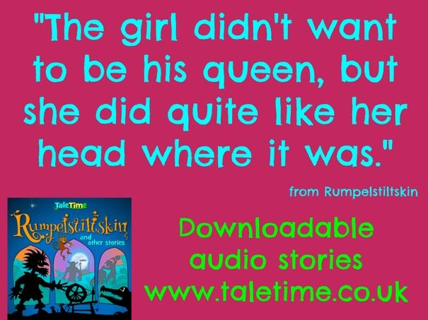 Rumpelstiltskin: audio story plus read along text