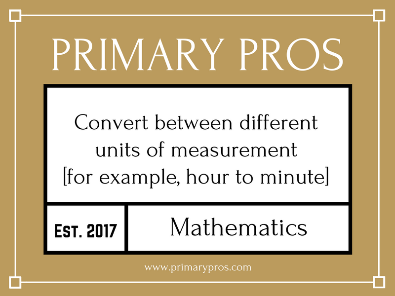 Convert between different units of measurement [for example, hour to minute]