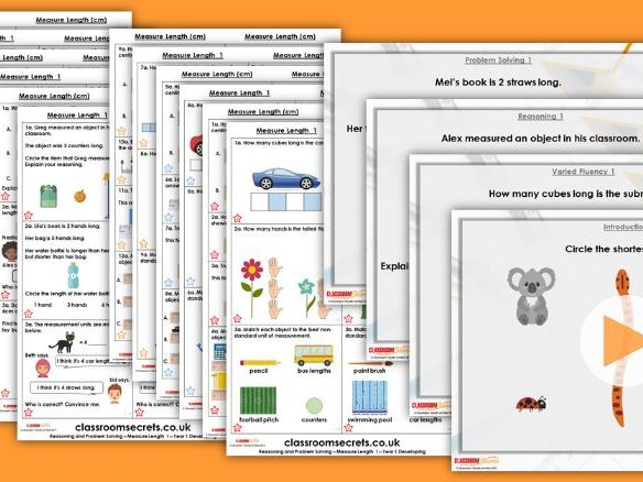 Year 1/2 Mixed Age Spring Block 3 Step 2 Maths Lesson Pack