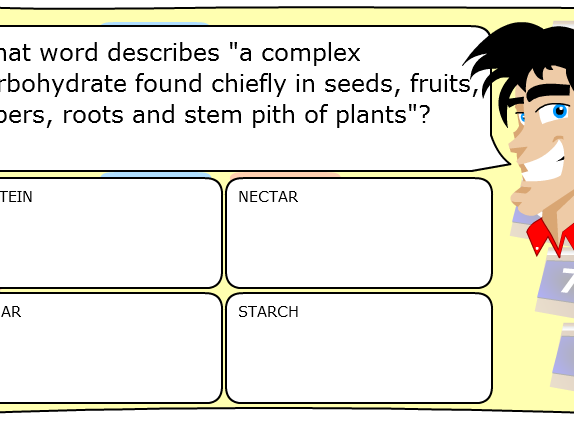 Fun Starter or Plenary Game involving Plants.