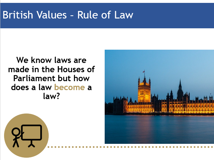 British Values Assembly - Rule of Law