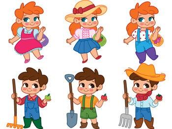 Farm Kids Clipart, Clip Art Kids Farm Kids Clipart, Clip ...