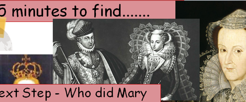 KS4 - Elizabethan England - Mary Queen of Scots