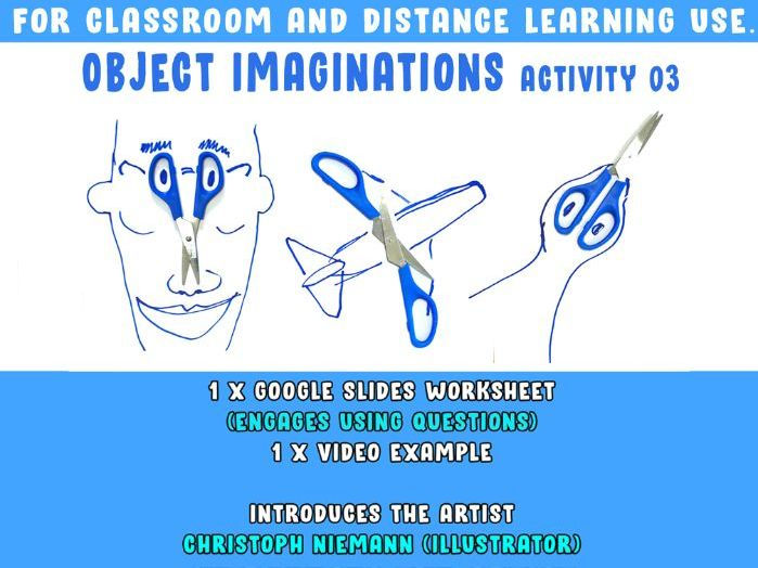 Object Imagination Art Activity [ Classroom and Home Learning Use]