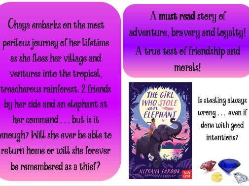 Example Book Review - The Girl Who Stole an Elephant ~ Nizrana Farook