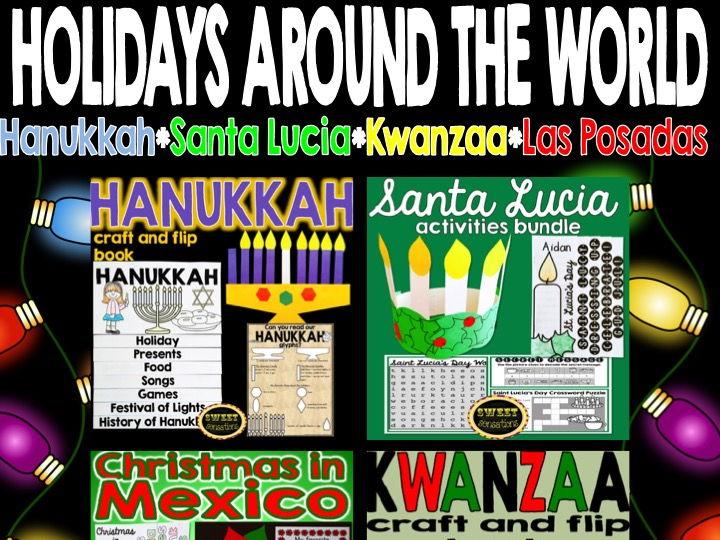 Holidays around the World bundle!