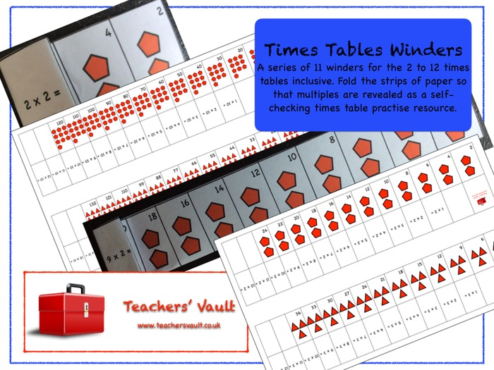 Times Tables Winders