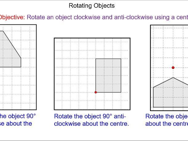 Basic Rotations and Rotating Shapes