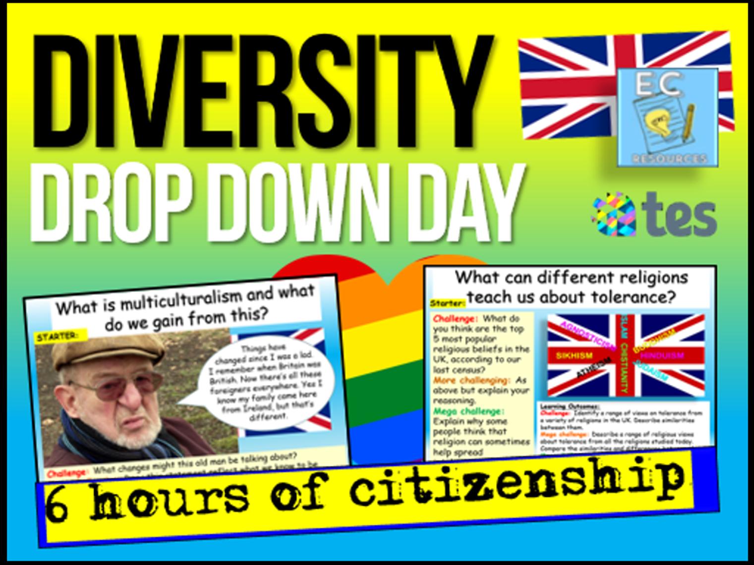 Diversity Drop Down Day