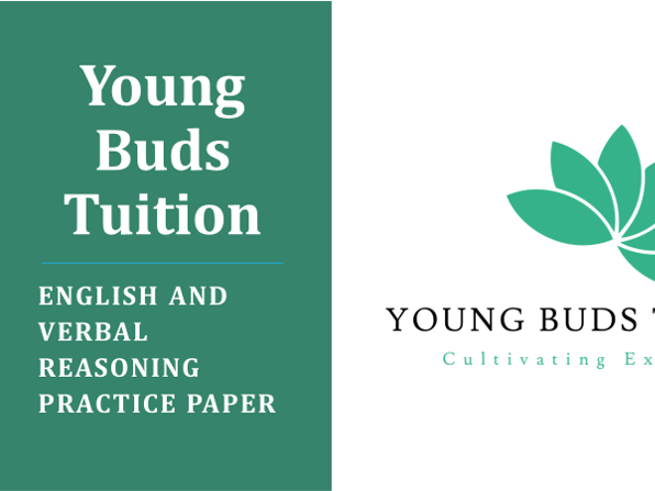 11+ English and Verbal Reasoning Practice Paper
