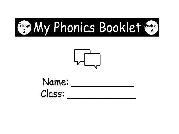 Phonics Workbook stage 2 (part 1) KS1 first level