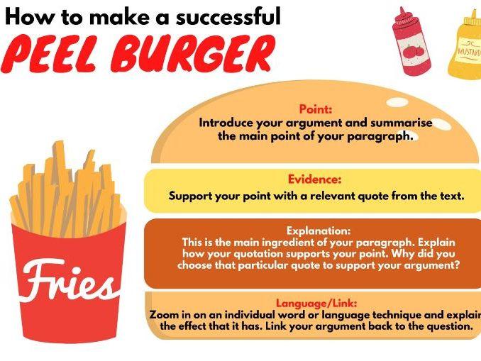 PEEL Burger