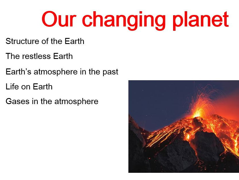 Earth and Atmosphere GCSE Chemistry