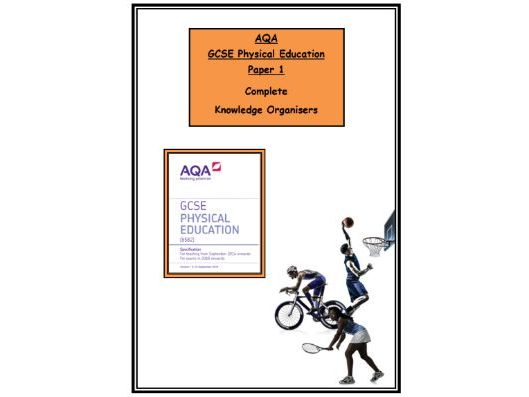 GCSE PE – AQA - Complete Booklet of Paper 1 Knowledge Organisers/Revision Mats