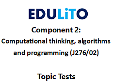 GCSE Computer Science 9-1 - End of Topic Tests - Component 2 Bundle