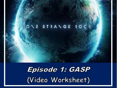 One Strange Rock: GASP (Movie sheet)
