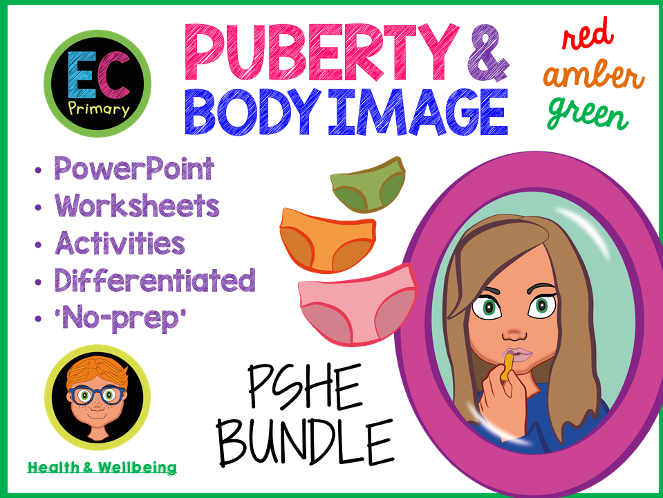 Body image + Puberty KS2 PSHE