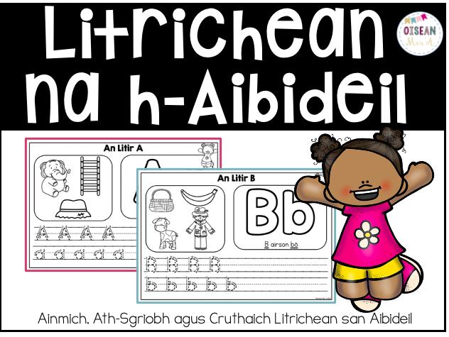Litrichean Na h-Aibideil + Digiteach