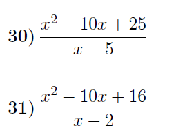 3 Worksheets on Algebraic Fractions (with detailed solutions)