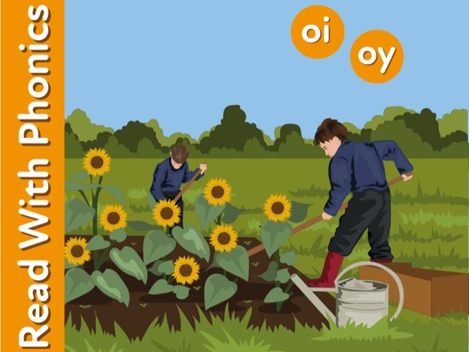 Learn The Phonic Sounds oi and oy (as in enjoy and spoilt)