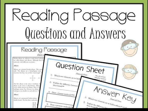 Alkanes and Alkenes Introduction Reading Passage
