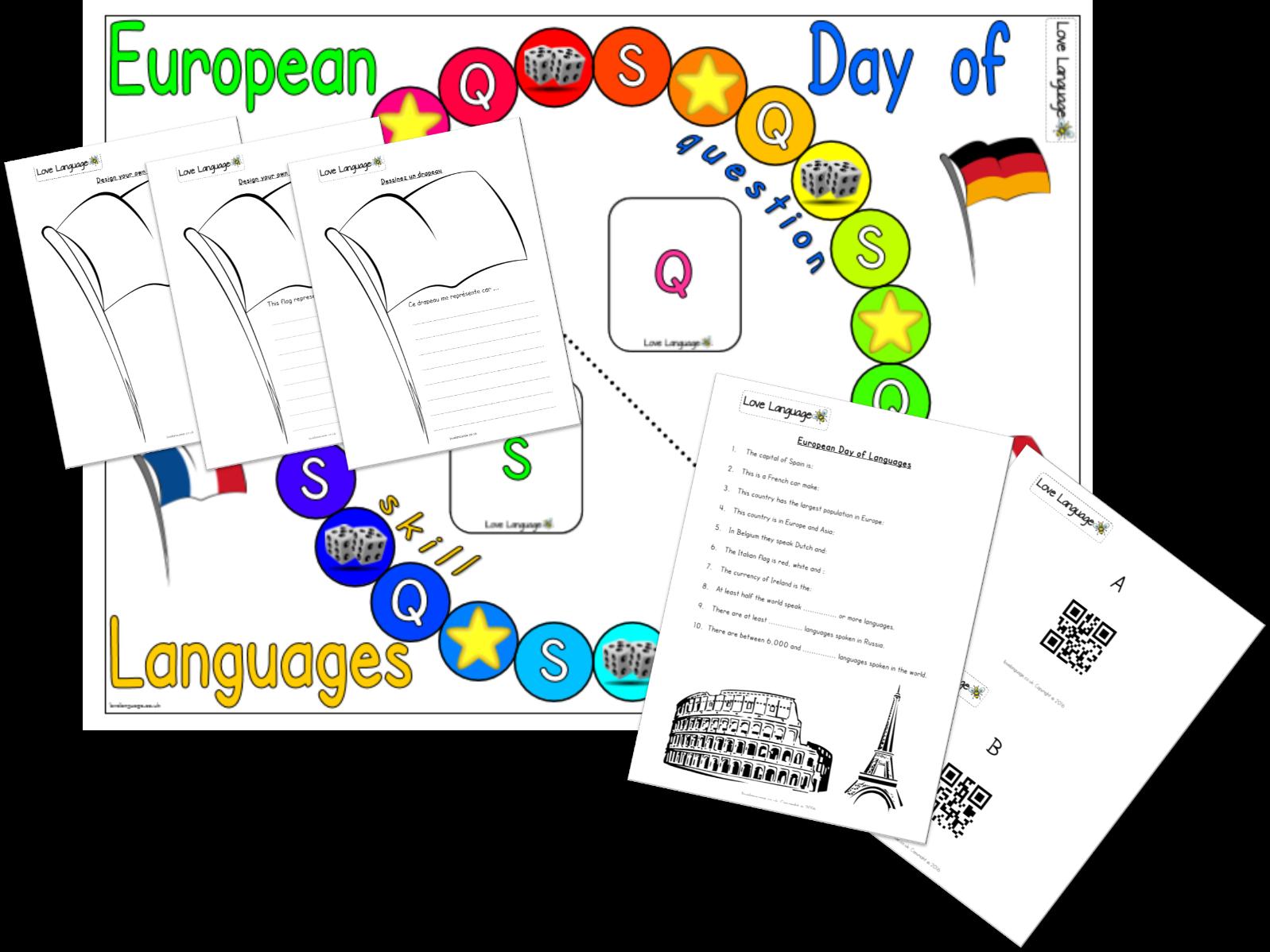 European Day of Languages 2018 Bundle