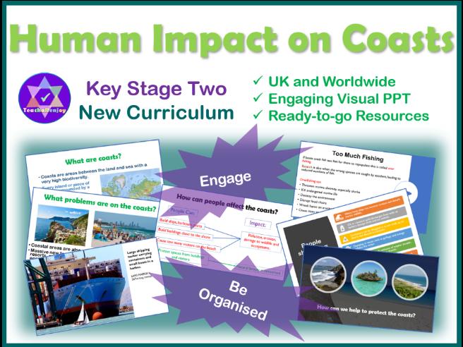 Human Impact on Coasts KS2 Geography