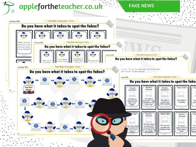 Fake News Activities KS2