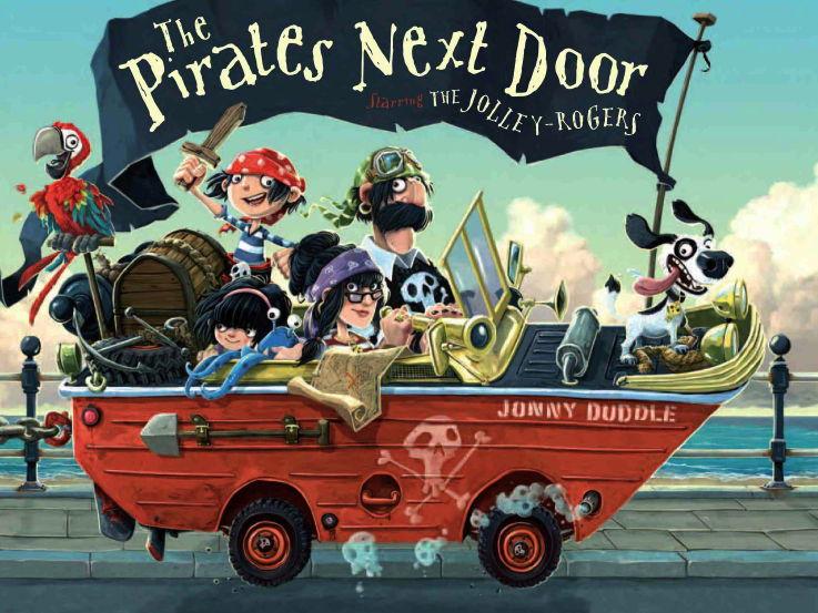 The Pirates Next Door- Writing Sentences