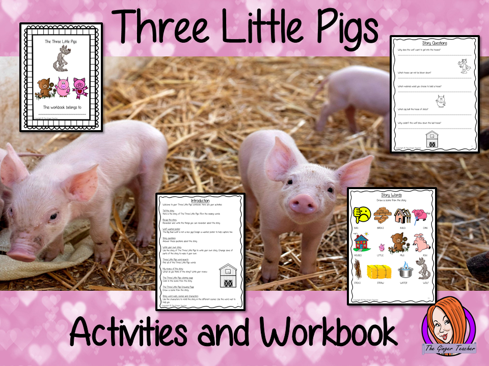 The Three Little Pigs Workbook