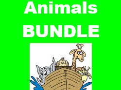 Animales (Animals in Spanish) Bundle
