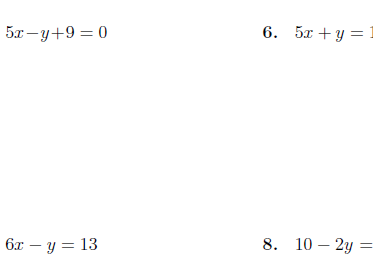 Writing linear equations in slope-intercept form 2 worksheet (with solutions)