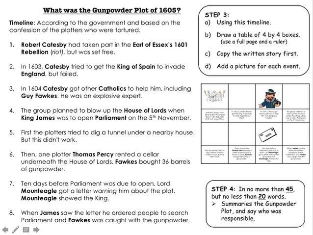What was the Gunpowder Plot of 5th November 1605?