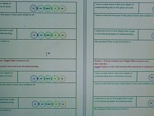 A SOLO taxonomy feedback sheet that WILL speed your marking up and enforce progress!