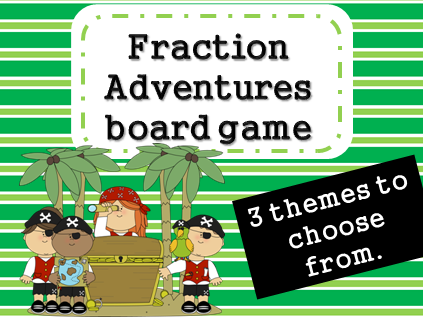 Fraction Adventure Board Game