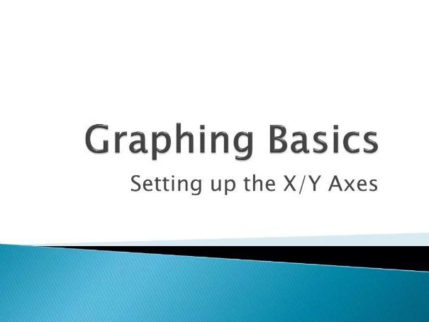 Setting up the X/Y Axis on a Graph - How-To Video