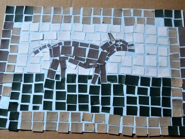 Hound Mosaic Activity Sheet