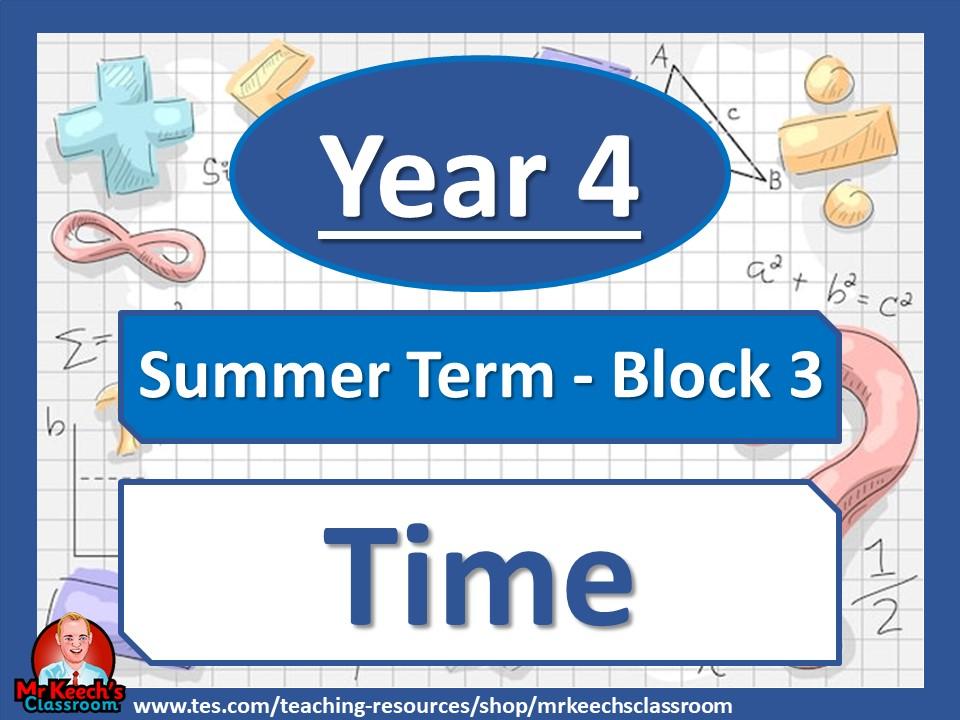 Year 4 - Time - Summer Block 3 - White Rose Maths