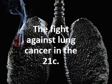 The fight against lung cancer in the 21c.