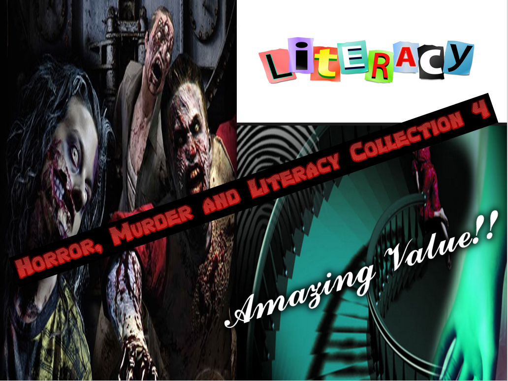 Horror, Murder and Literacy Collection Pack 4
