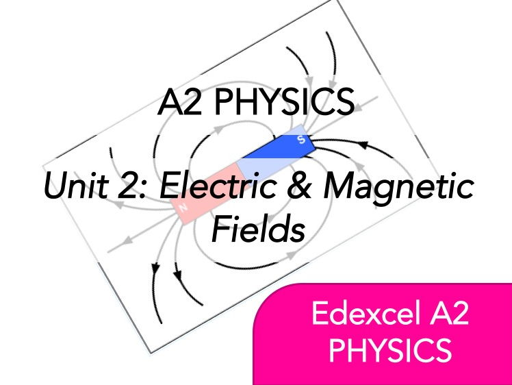 Edexcel A2 Physics - Electric & Magnetic Fields - Whole Course Content - Revision, Questions, Notes