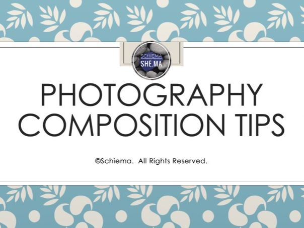 Photography Composition Tips Bundle