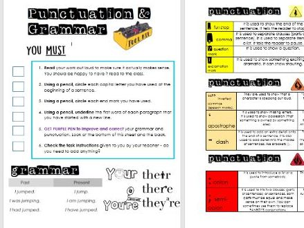 Year 5/ 6 Writing Toolkit - Essential Editing Toolkit - BUILDING INDEPENDENCE IN WRITING