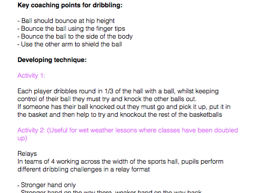 Basketball Manual - TGFU Approach