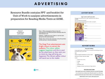 KS3 Advertising Unit