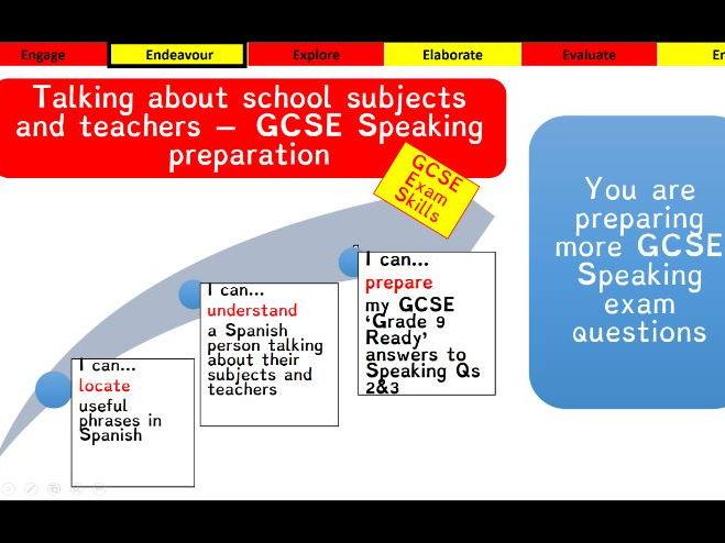 Viva GCSE - Module 2 - Que tal los estudios - Lesson 2