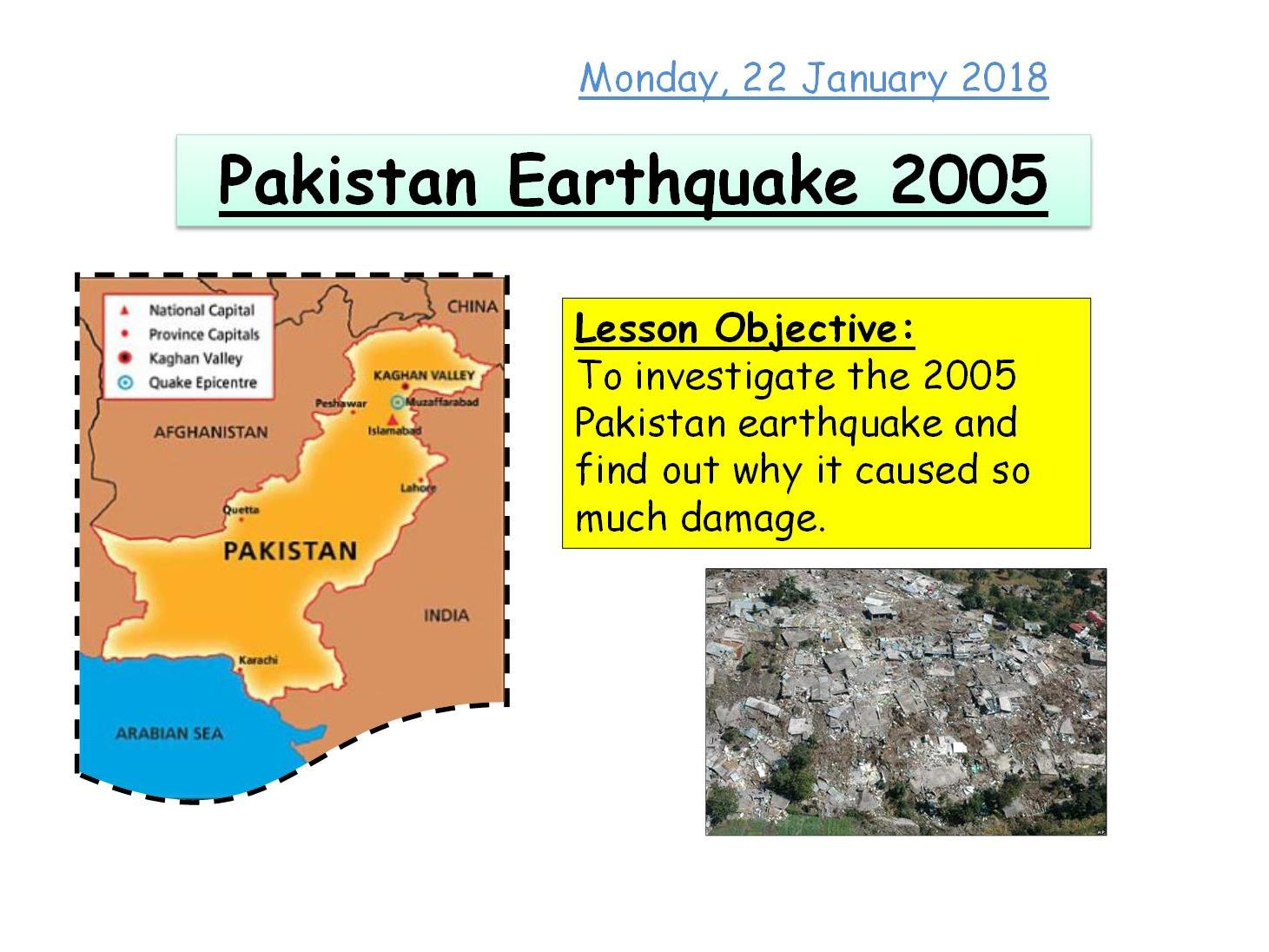 KS3 - Tectonic Hazards