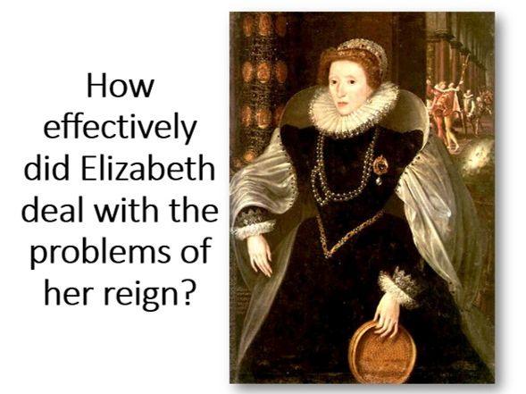 How effectively did Elizabeth I rule England?