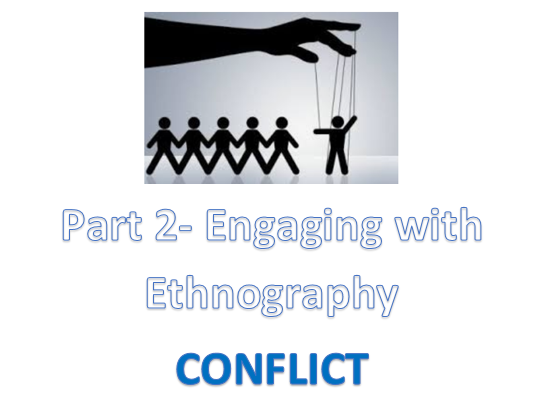 IB Social and Cultural Anthropology: Conflict- In Search of Respect