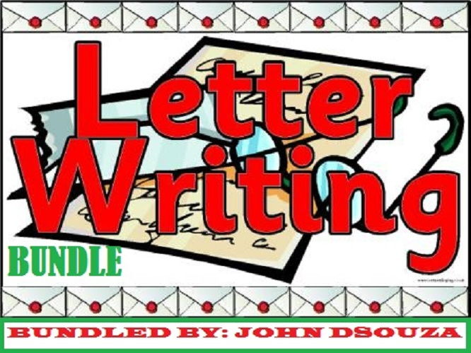 LETTER WRITING: BUNDLE